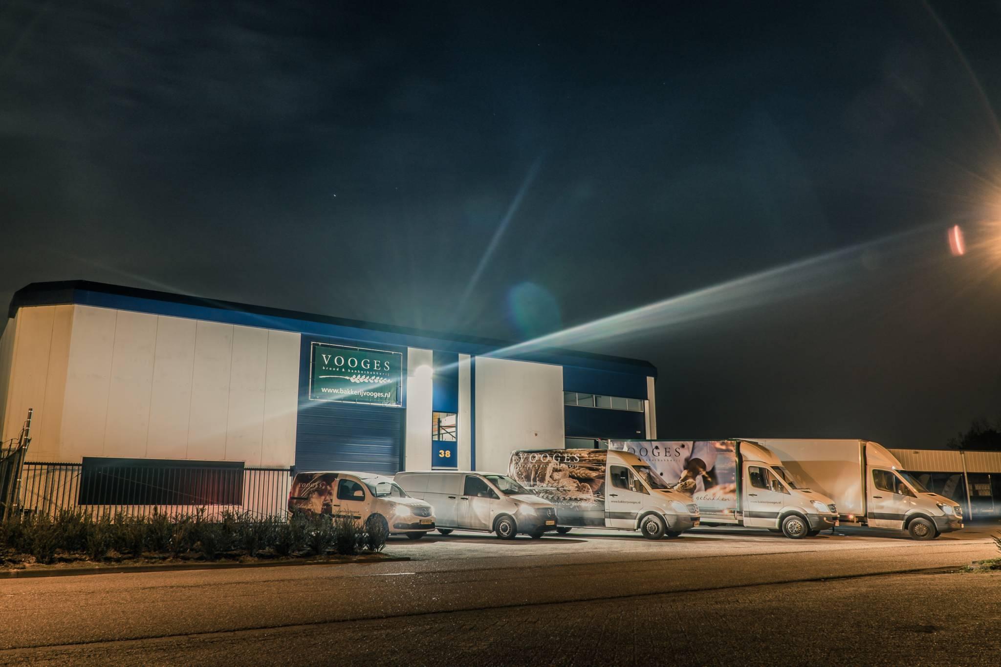 Bakkerij Vooges Visserstraat - Wagenpark