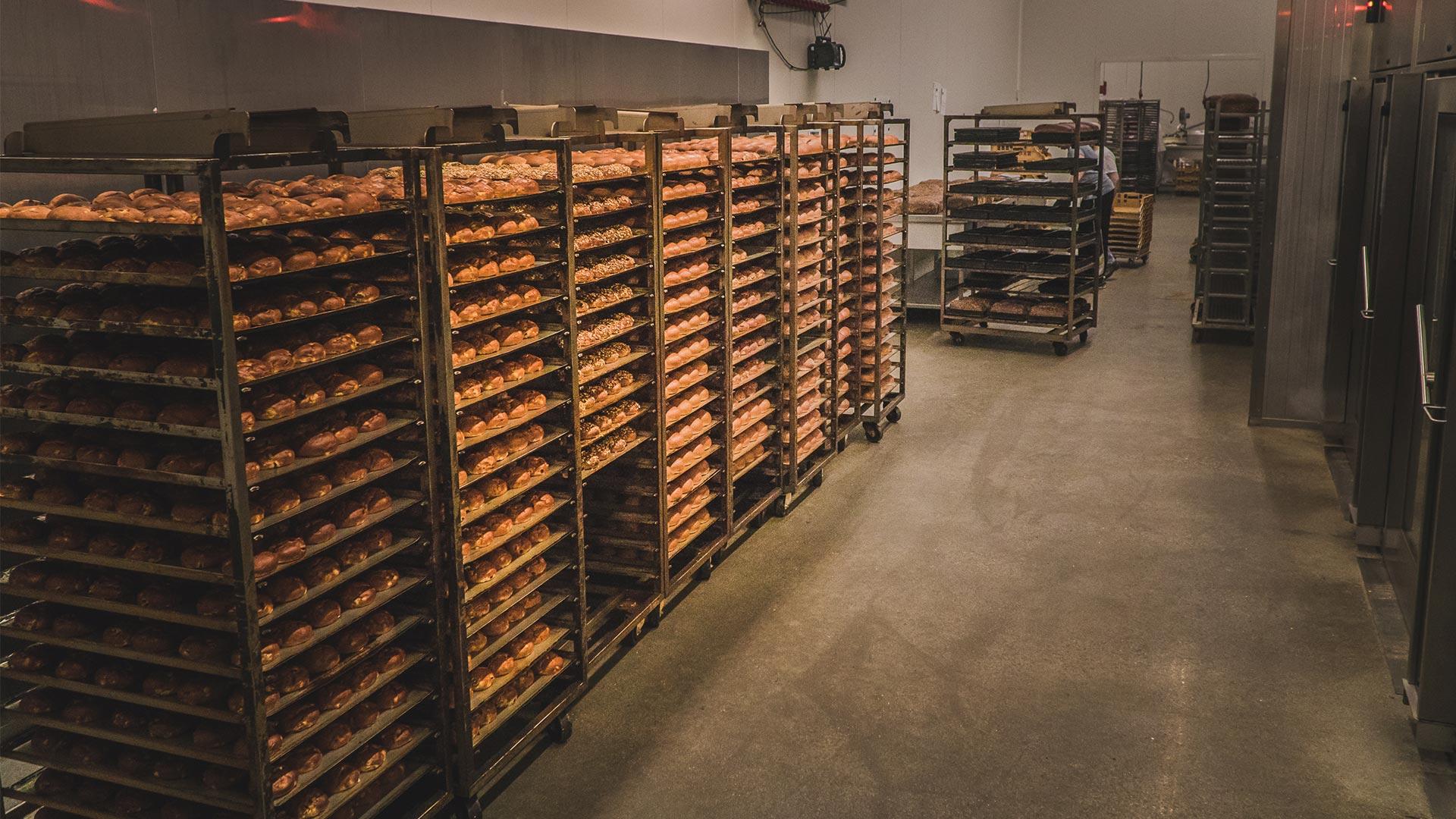 Ook voor bedrijven bakt bakkerij Vooges het lekkerste brood en banket