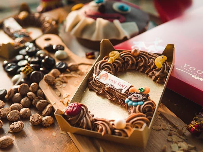 Bakkerij Vooges Chocoladeletter Melk - Welke chocoladeletter wil jij van de Sint krijgen?