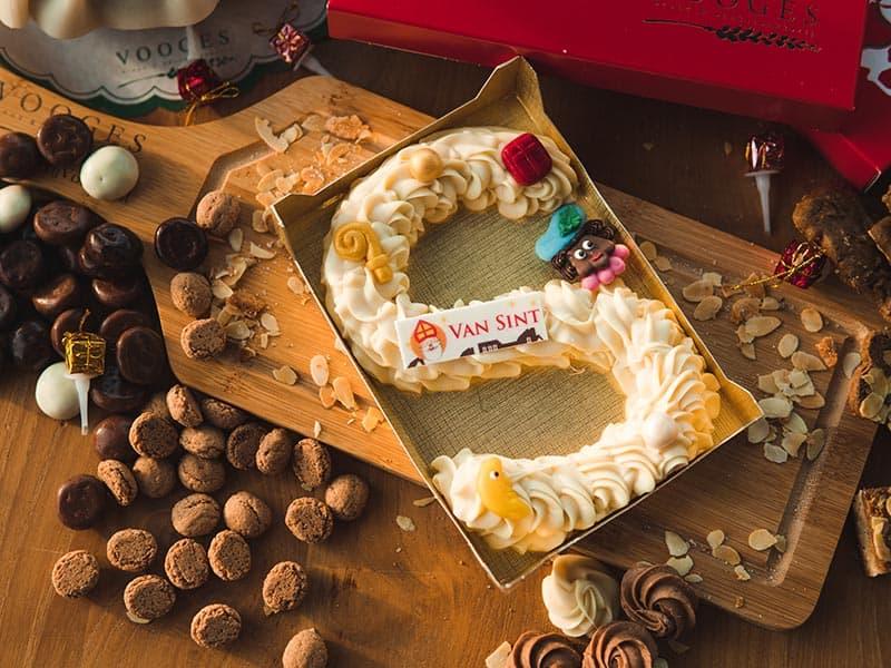 Bakkerij Vooges Chocoladeletter Wit - Welke chocoladeletter wil jij van de Sint krijgen?