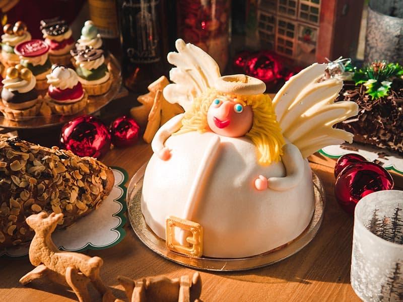 Bakkerij Vooges - Kerstengeltaart
