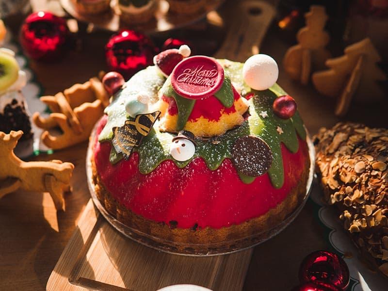 Bakkerij Vooges - Luxe kersttulband