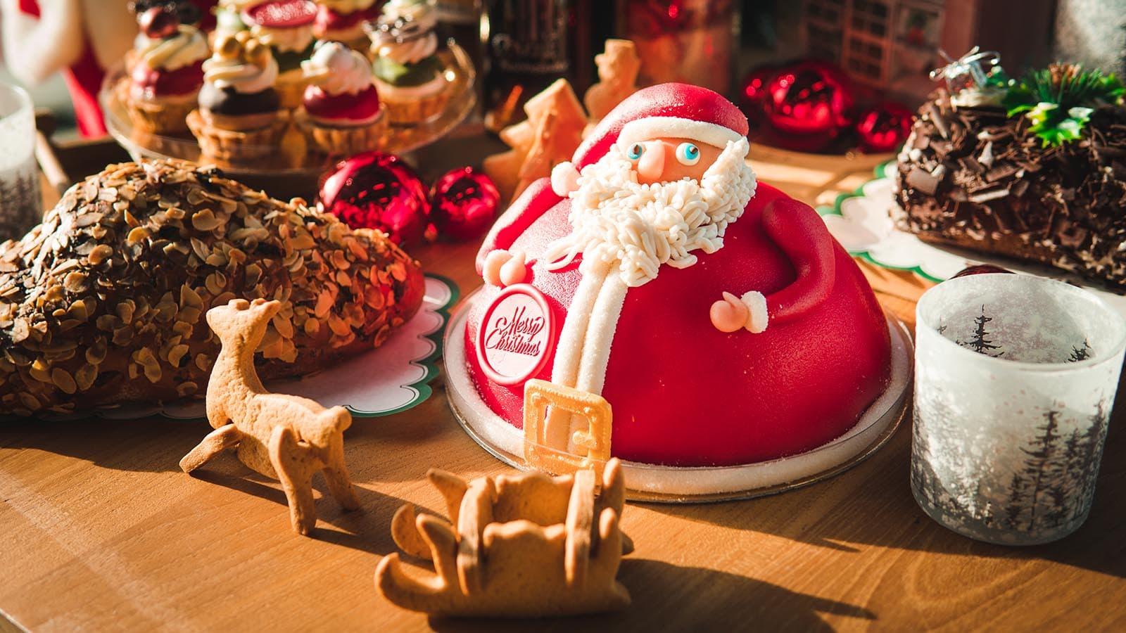 Bakkerij Vooges - Santa Claus - Heerlijk bij de koffie tijdens de Kerst